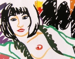 Tom Wesselmann: Monica in rob with her motherwell