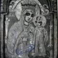 Grcki majstor - Bogorodica sa Hristom (Carica) kraj XVIII v., tempera na dasci, 29 X 20,5 X 1,4 cm