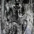Grcki majstor - Sv. Nikola Deizisni prva pol. XVIII v., tempera na dasci, 37 X 21 X 2 cm