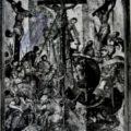 Italo-grcki majstor - Raspece Hristovo druga pol. XVII v., tempera na dasci, 57 X 48,5 X 0,7 cm