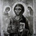Nepoznati slikar iz Bokokotorske skole - Deisis prva pol. XVIII v., tempera na dasci, 32 X 25, 5 X 2 cm