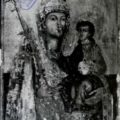 Precanski majstor (Kostajnica) - Bogorodica sa Hristom (Carica nebeska) oko 1750. g., tempera na dasci, 64, 5 X 42, 6 X 3 cm