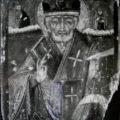 Ruski majstor - Sv. Nikola poc. XVIII v., tempera na dasci, 28,5 X 23,5 X 2,5 cm